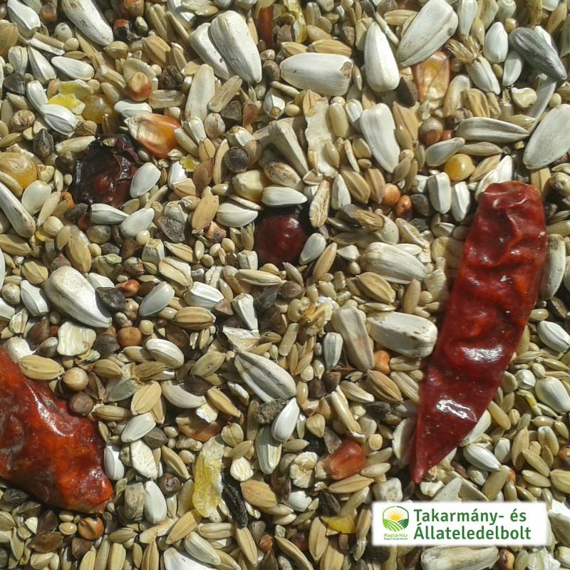 Kakadu & amazon papagáj magkeverék (kimérve/kg)