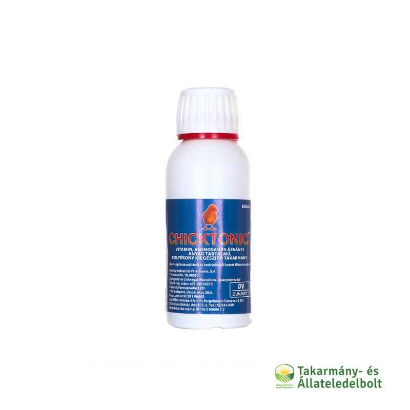 Chicktonic vitamin, aminosav és ásványi anyag kiegészítő 100ml