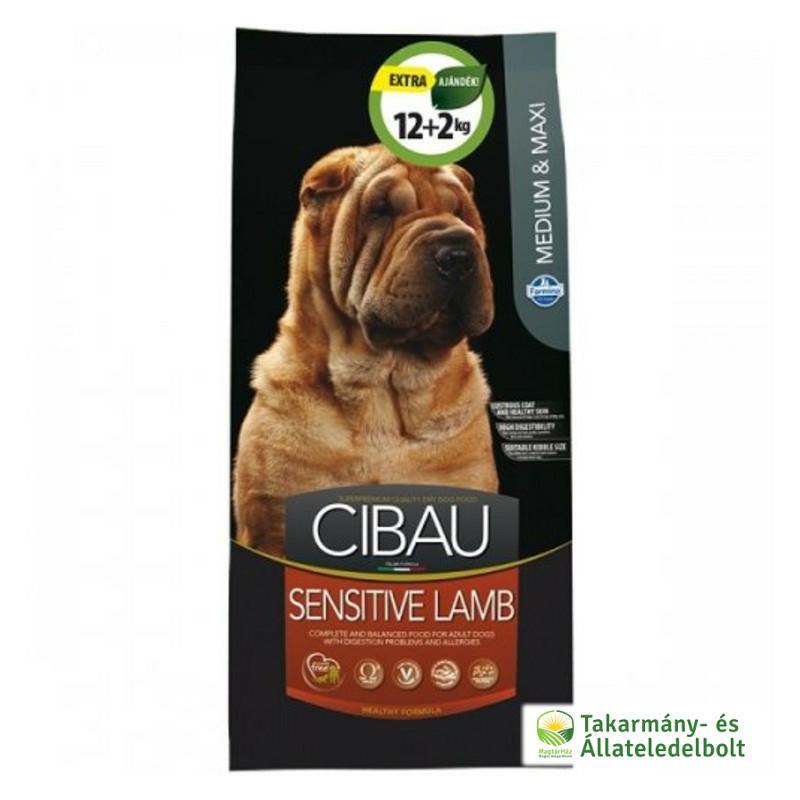cibau-sensitive-lamb-szaraz-kutyatap-14kg